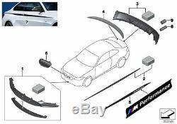 Bmw Nouveau Véritable 3 F30 F31 M Performance Pin-rayures Durites Kit 2365577