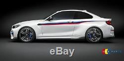 Bmw Nouveau Véritable M2 F87 M Performance Side Stripe Durites Kit Gauche + Droite