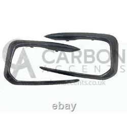 Bmw Série 1 Real Carbon Fibre Fiber Front Canards F20 F21 M135i M140i Seulement