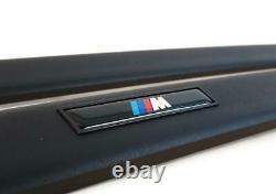 Bmw Série 3 Berline E36 M Porte Moulure Bandes Set Véritable 82119403144