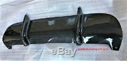 Bmw Série 3 E92 E93 En Fibre De Carbone De Finition Pour Bmw M Performance Véritable Diffuseur
