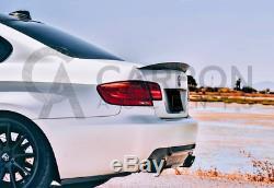 Bmw Série 3 E92 M3 Real Fibre De Carbone Spoiler M Performance Style De Concurrence
