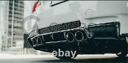 Bmw Série 3 M3 E92 E93 Réel Fibre De Carbone Fibre Diffuseur Arrière 2007-2012