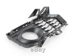 Bmw Série 4 F32 F33 F36 M Sport Pare-chocs Avant Inférieur Véritable Grill Set Mesh