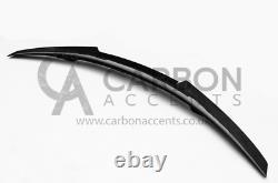 Bmw Série 4 F33 F83 Real Carbon Fibre Fiber High Kick Psm Style Spoiler M4 F83