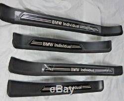 Bmw Série 5 E39 Véritable 1997-2003 Sill Porte Individuelle Tread Plaques Marque Nouveau
