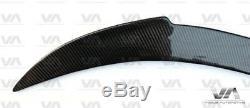 Bmw Série 6 F12 F13 M6 Réel En Fibre De Carbone Vrs Style De Démarrage Du Coffre Becquet