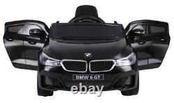 Bmw Véritable Bébé Racer Gt Suv Enfants Rouler Sur 12v Push Toy Voiture Électrique Batterie Rc