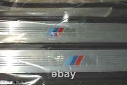Bmw Véritable E90 E91 Série 3 2006-2012 Sedan Wagon M Porte Sill Strips Oem