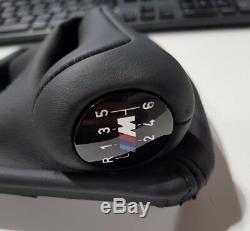 Bmw Véritable E90 M3 E92 E93 Illuminated Levier De Vitesses Avec Gaiter 25112283050