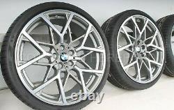 Bmw Véritable G20 G22 Rdci Roue & Jeu De Pneus 795m Gris M Performance 36112459546