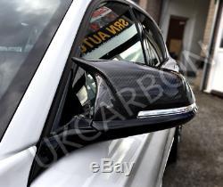 Bmw Véritable M Miroir En Fiber De Carbone Couvre F20 F22 F30 F31 F33 Pour 1 2 3 4 Séries