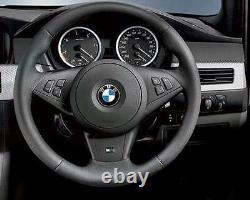 Bmw Véritable Nouvelle Série 5 6 E60 E61 E63 E64 M5 M6 M Volant Trim 7841044