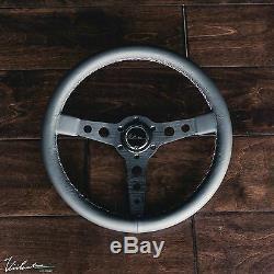 Bmw Viilante Corsa 350 Volant En Cuir Véritable Tricolore Point E36 M3