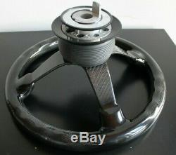Bmw Volant Real De Fibre De Carbone 100% Deep Dish E32 E34 E36 Z3 1992-1998