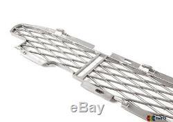 Bmw X5 E53 Nouveau Véritable 03-06 Sport Avant Titan Pare-chocs Grill Set Mesh De Trois