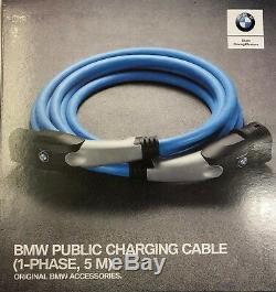 Câble De Charge Public D'origine Bmw I3 / I8 / 225xe / 330e / 530e / X5 40ex 5m 61902455069