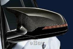 Caps D'origine Bmw Carbon Miroir Pour M3 F80 F82 F83 M4 M2 Compétition (une Paire)