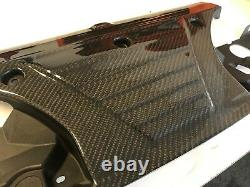 Custom Carbon Fibre Genuine Bmw E36 M3 Radiator Rad Cover 3.0l 3.2l Evo