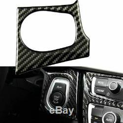 En Fibre De Carbone Pleine Garniture Intérieure Décor Autocollant Couverture Pour Bmw Série 3 4 F30 F32