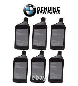 Ensemble De 6 Pour Bmw Automatic Transmission Fluid Atf 2 Véritable 6l Oem 8322220445