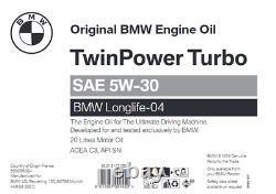 Genuine Bmw / Mini Huile De Moteur Longlife-04 Sae 5w-30 20 Litres 83215a383d2