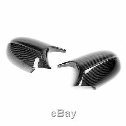 M3 Real Style Fibre De Carbone Miroir Bouchon Pour Bmw E90 E92 E93 Facelifted 08-11