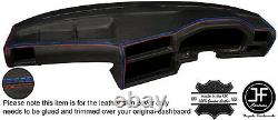 M Stitch Real Leather Dash Dashboard Cover Fits Bmw Série 3 E30 82-92 Style 2