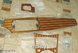 Marque Bmw E85 E86 Z4 2003-2008 Version Acajou Véritable Maritime Intérieur Kit Nouveau