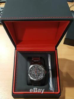 Montre Bmw M Chronograph 80262406694 Black Wristwatch Meilleur Cadeau Véritable Neuf