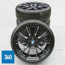 Nouveau Véritable Bmw 3 4 Series 20 624 M Sport Double Spoke Alloy Wheels Tyres F30