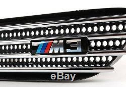 Nouveau Véritable Bmw 3 E46 M3 Droit Aile Gauche Fender Grille M3 Badge Paire Set