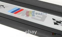 Nouveau Véritable Bmw 3 Series M3 E92 Porte D'entrée Avant Sill Cover Pair Gauche Droite