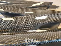 Nouveau Véritable Bmw X5 F15 F85 Carbon Trim Decor Door Instruments M Performance Set