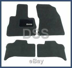 Nouvelle Bmw X5 Véritable Tapis Tapis Tissu Mat Noir Anthracite Oem 82110008635