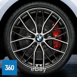 Nouvelles Roues En Alliage À Double Rayons Sport Véritable Bmw 20 405 M Pneus Pneumatiques Série 3 F30