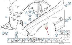 Oem Bmw M3 Coupé E46 Avant Droite Fender 41357894338 7894338 Véritable