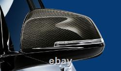 Paire De Bouchons Miroir En Carbone Bmw Authentique 51162211904 905 1 2 3 4 F Model Series