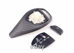 Performance Authentique Bmw M Carbon Sport Auto Gear Selector Garniture 61312250698 Lloyd