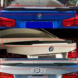 Pour 06-11 Bmw E90 Série 3 Berline Et M3 En Fibre De Carbone Trunk Spoiler Wing M4 Style