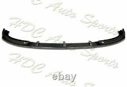 Pour 11-13 Bmw Série 3 Coupé E92 E93 Gt-style Real Carbon Fiber Front Bumper Lip
