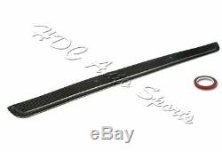 Pour 99-05 Bmw E46 M3 2dr 325ci 330ci Toit En Fibre De Carbone Réel De Lunette Arrière Spoiler