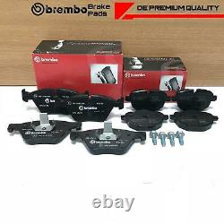 Pour Bmw 5 Série 518d 520d 525d F10 F11 Front Rear Genuine Brembo Brake Pads Set