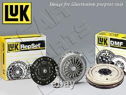 Pour Bmw 5 Series 520 D E60 E61 Kit D'embrayage Double Masse Véritable Luk M47d20