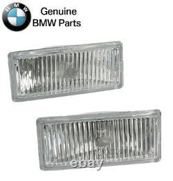 Pour Bmw E30 M3 1988-1991 Paire Jeu De Front De Gauche Et Droite Phares Anti-brouillard Objectif Véritable