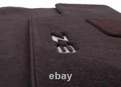 Pour Bmw E36 Z3 96-02 Ensemble De 2 Tapis Avant Tapis Mats Noir Authentique 82111470158