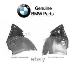 Pour Bmw E46 2001-06 Paire Ensemble De Front Droit Et Gauche Avant Fender Liners Authentique