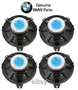 Pour Bmw E46 325ci Jeu De 4 Avant Et Arrière 6.25 Bass Speaker Haut-parleurs D'origine