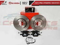 Pour Bmw E81 E82 120 120d 125 Avant 300mm Véritable Brembo Disques De Frein Pads Capteur
