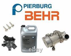 Pour Bmw Electric Engine Water Pump Oem Thermostat 3-bolt Kit Antigel Authentique